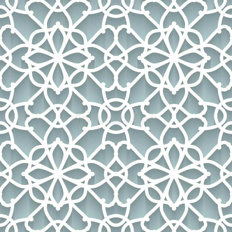 Бумажная текстура шнурка иллюстрация вектора