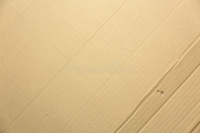 Бумажная текстура - Crease предпосылка текстуры коробки бумажная для desi сети стоковые фото