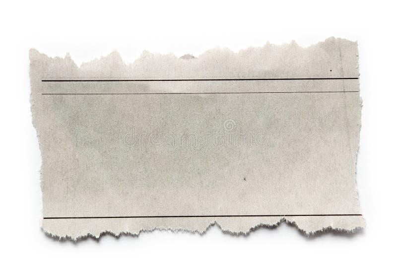 Бумажная часть стоковое изображение rf