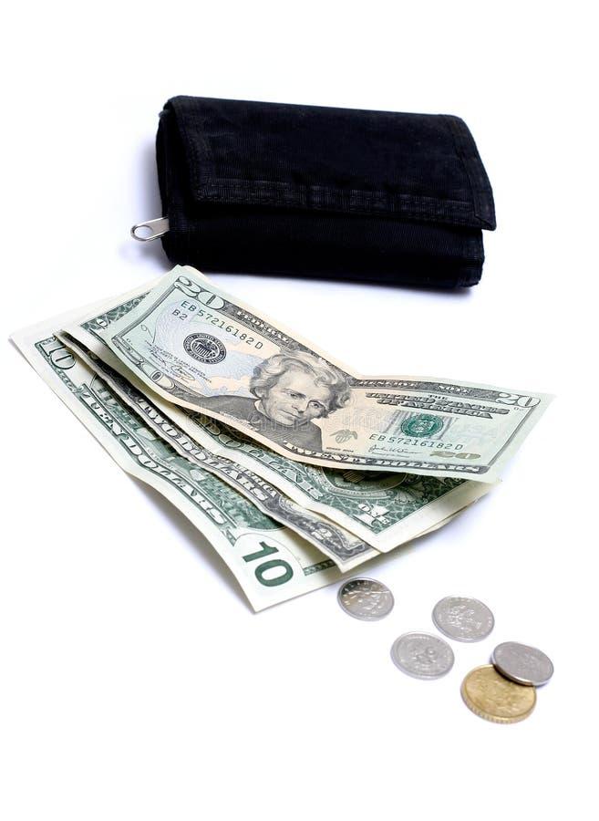 бумажник дег III стоковое изображение rf