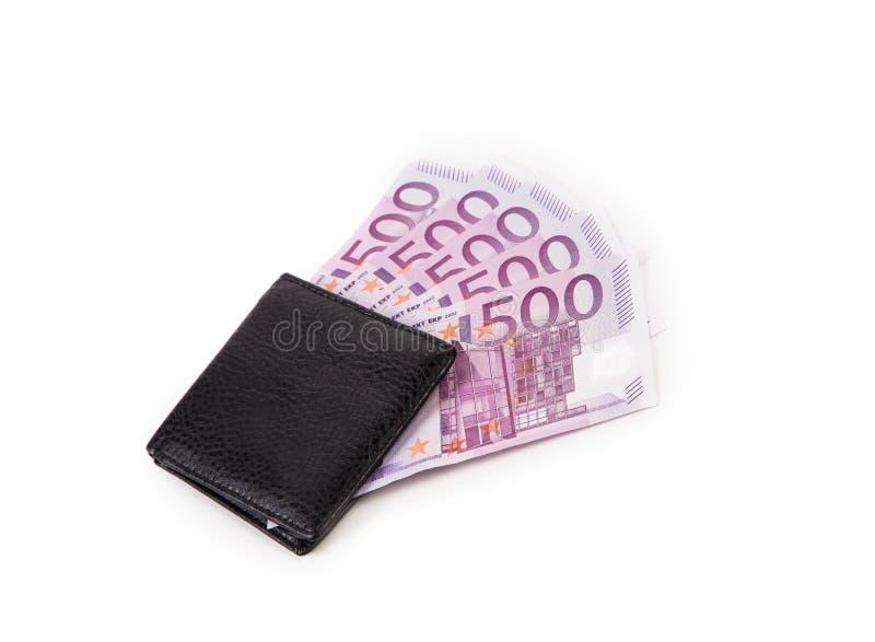 Бумажник с кредитками стоковые фото