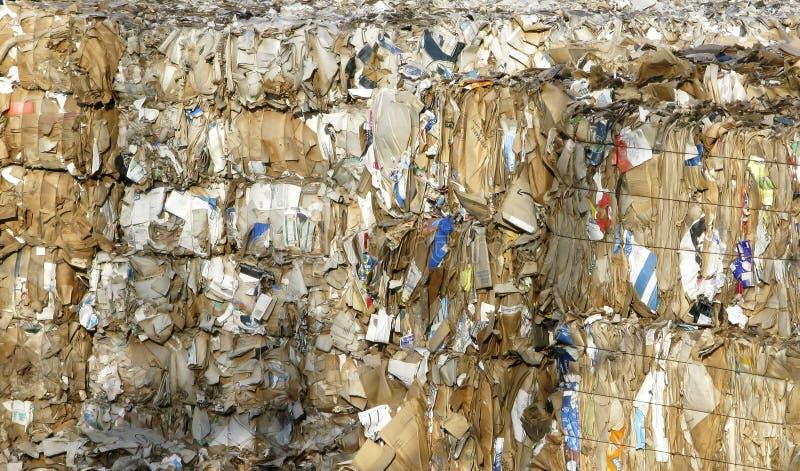 бумажные продукты рециркулируют стоковое фото