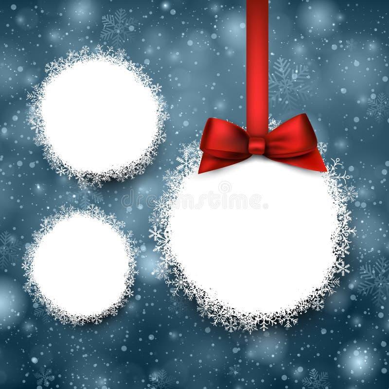 Бумажные шарики Кристмас бесплатная иллюстрация