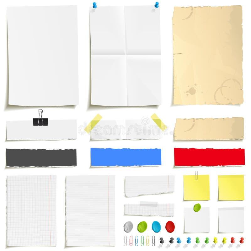 бумажный комплект paperclip