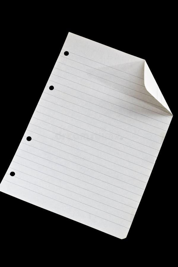 бумажный лист стоковые фото
