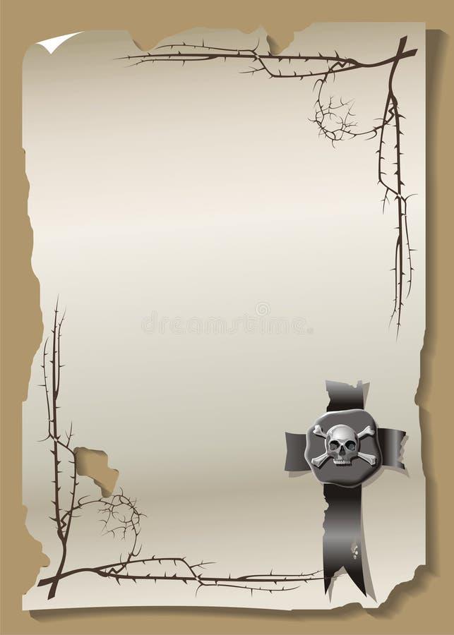 Бумажный лист бесплатная иллюстрация