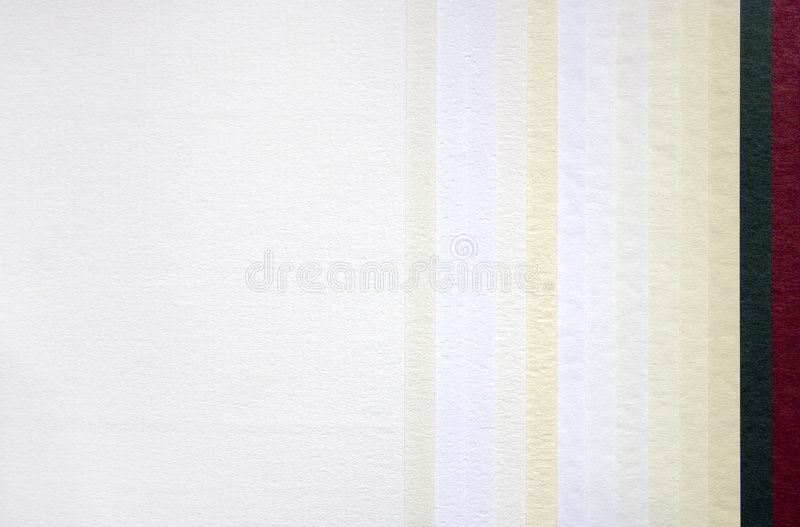 бумажный образец стоковое изображение