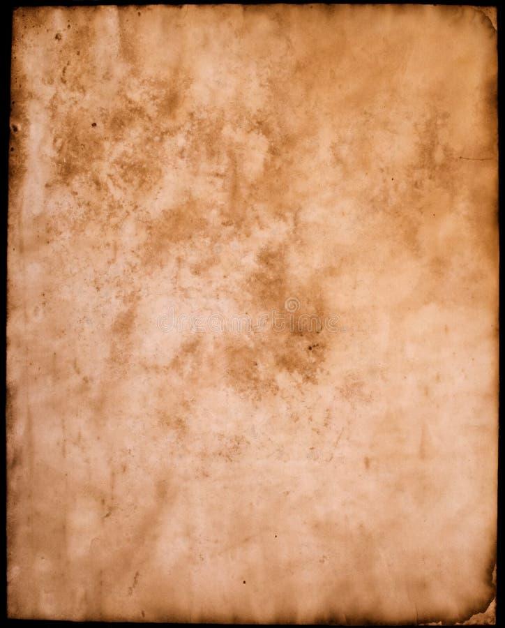 бумажный пергамент стоковая фотография rf