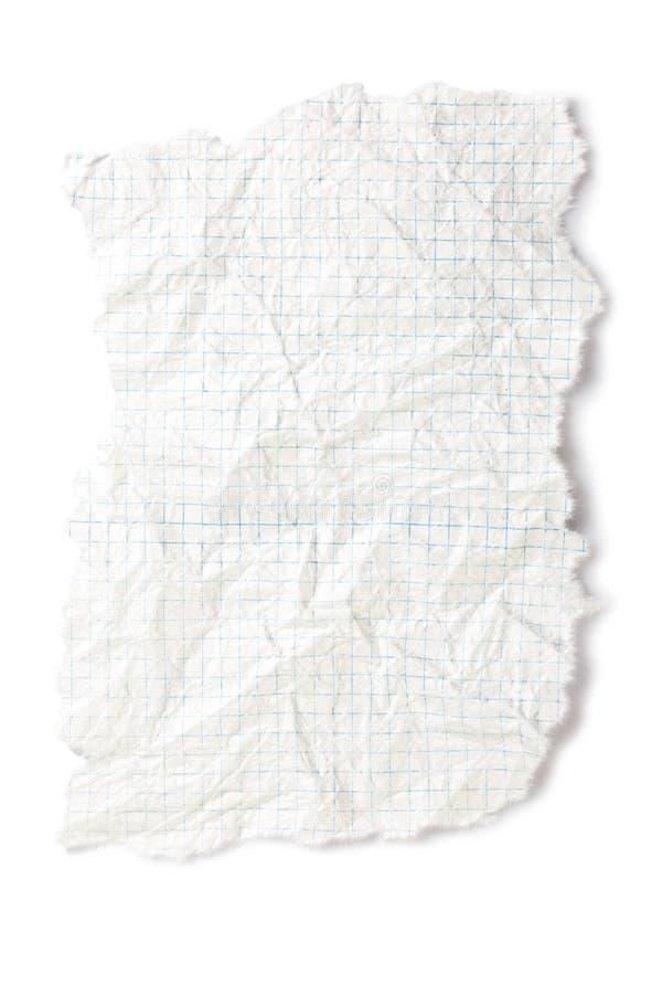 бумажный разрыв стоковые фотографии rf