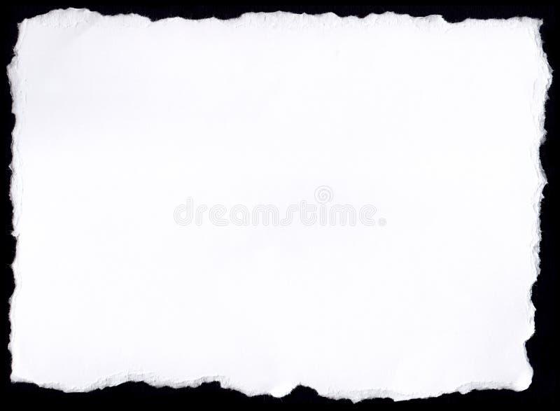 Бумажный разрыв стоковое фото
