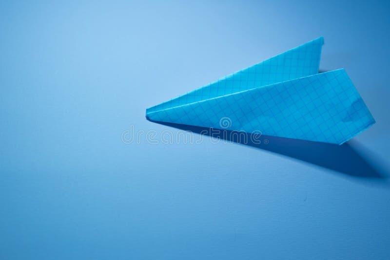 Бумажный самолет стоковое изображение rf