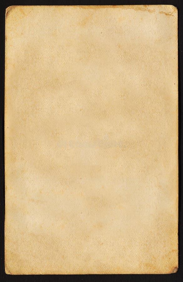 бумажный сбор винограда стоковое изображение rf