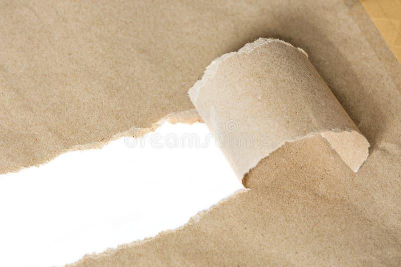 бумажный сорванный текст космоса стоковые фотографии rf