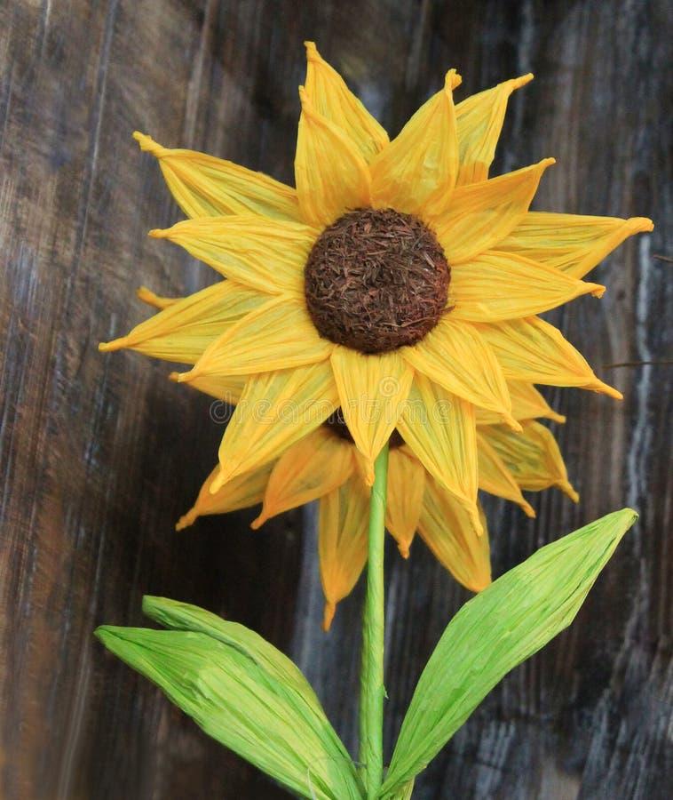 Бумажный солнцецвет стоковые изображения rf