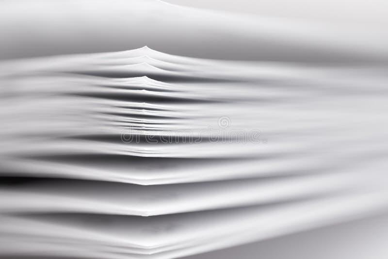 бумажный стог стоковая фотография