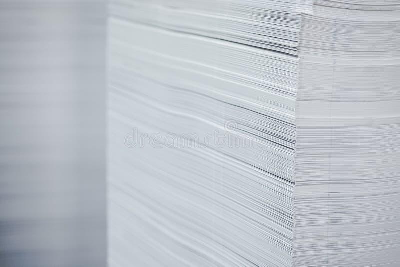 бумажный стог стоковое фото
