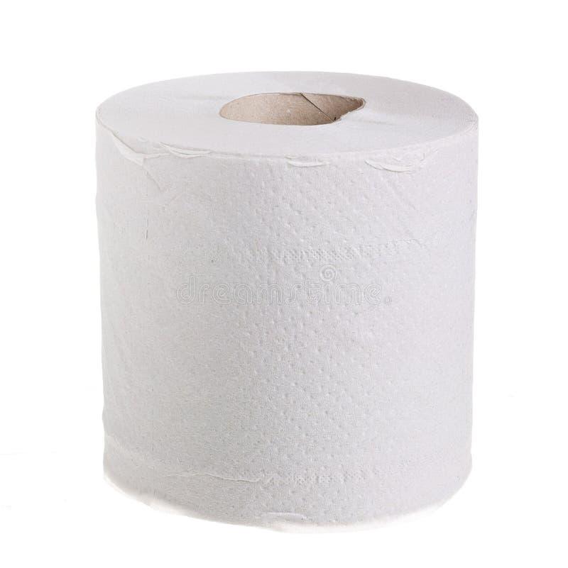 бумажный туалет крена стоковые фотографии rf