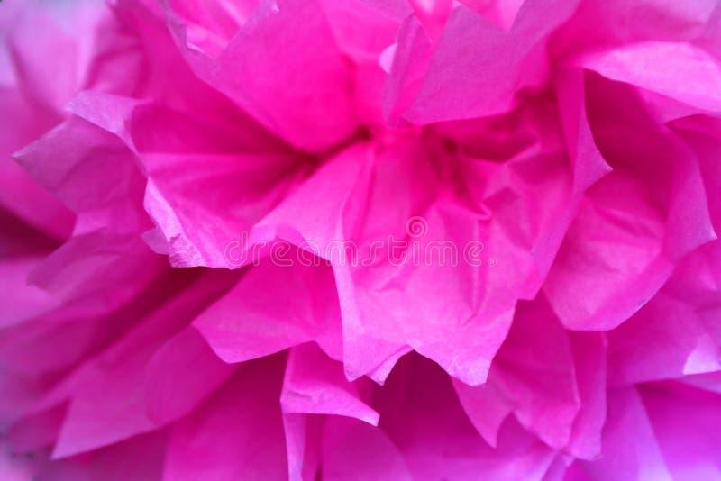 Бумажный цветок ткани стоковая фотография