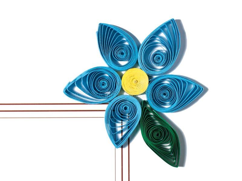 Бумажный цветок Quill стоковая фотография