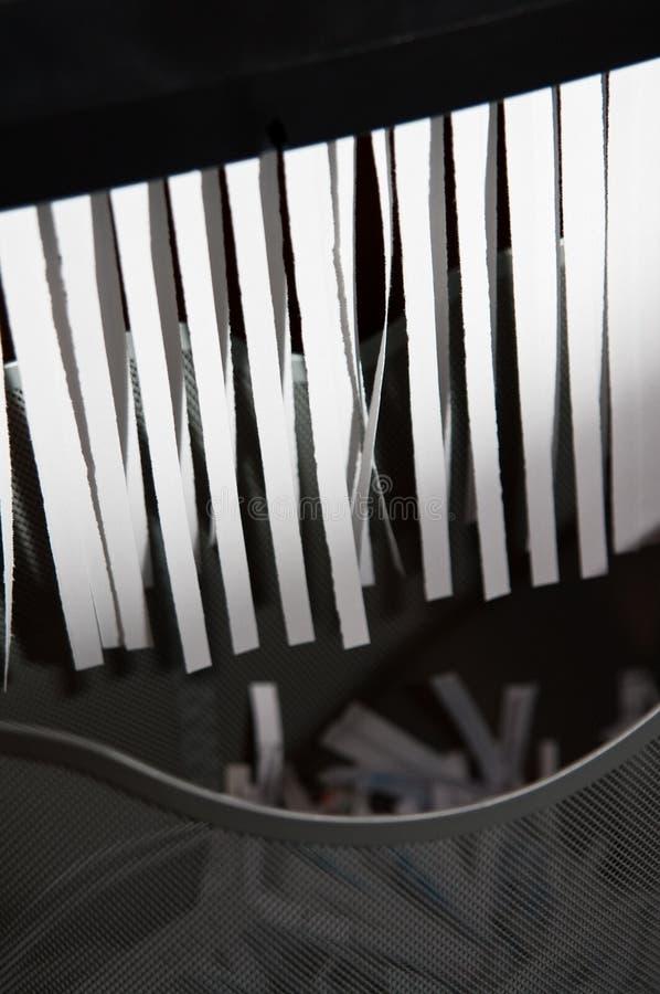 бумажный шредер стоковые изображения rf