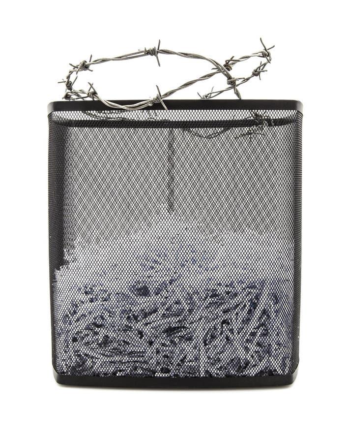 Бумажный шредер стоковое изображение