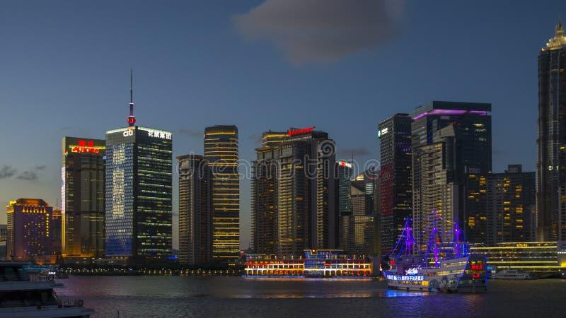 Бунд Шанхая южный стоковое изображение