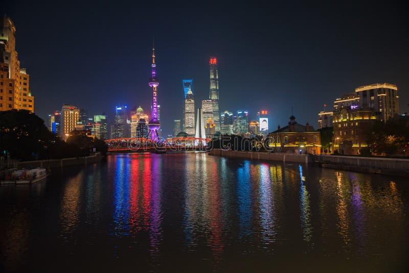 Бунд Шанхая стоковые изображения rf