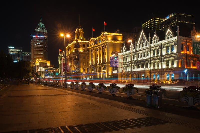 Бунд Шанхая стоковое изображение