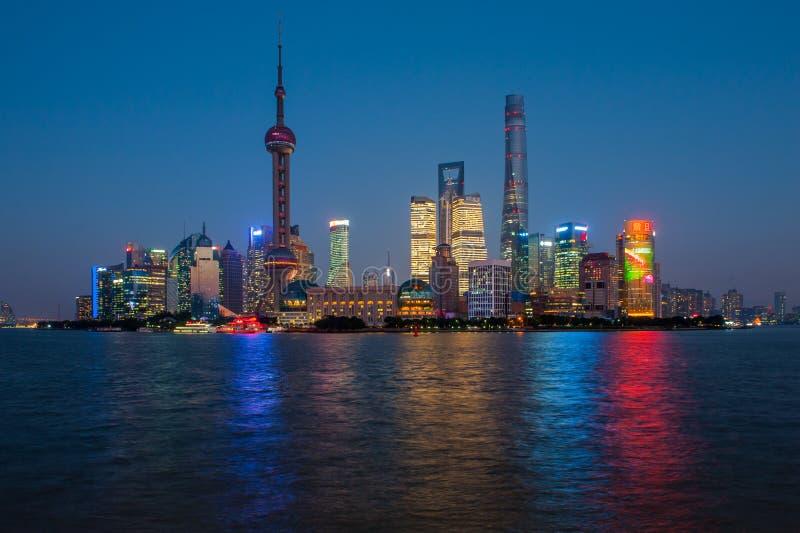 Бунд Шанхая стоковая фотография