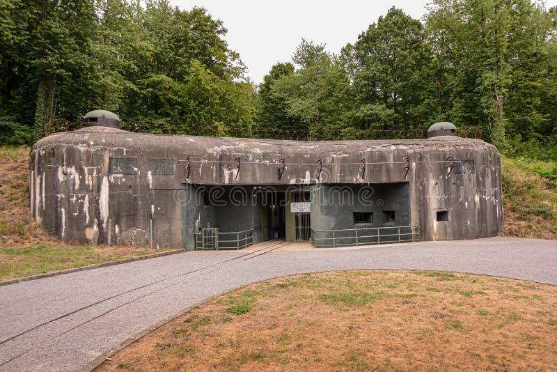 Бункер Второй мировой войны стоковые изображения