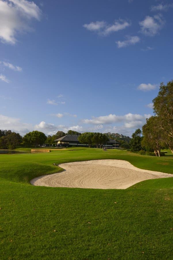 Бункер поля для гольфа стоковые фотографии rf