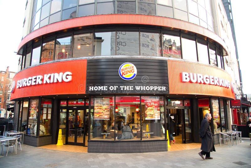 Бургер Кинг стоковые изображения