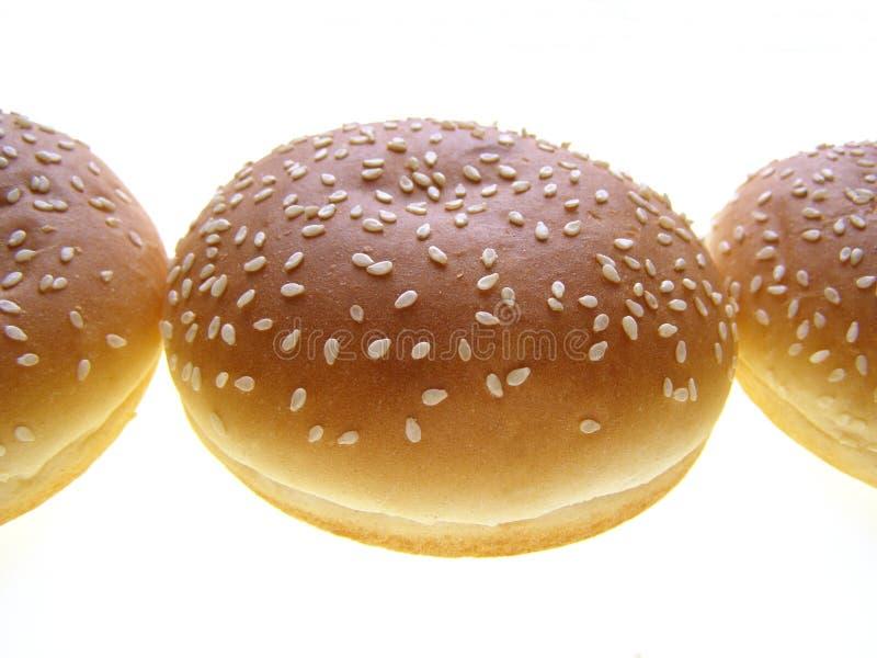 бургер плюшки стоковое фото rf