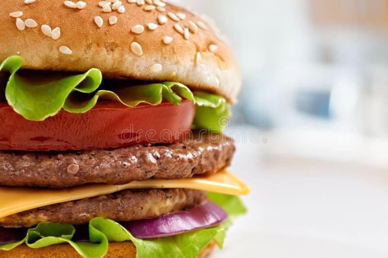 Бургер стоковая фотография