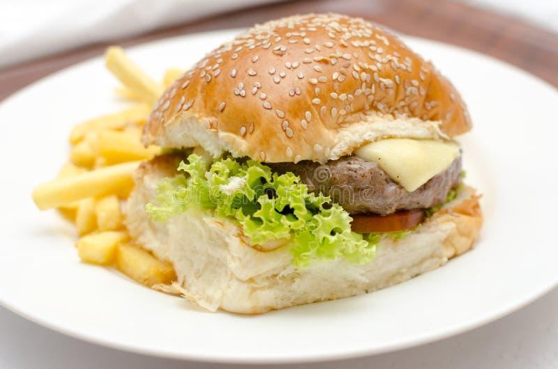 Бургер стоковая фотография rf