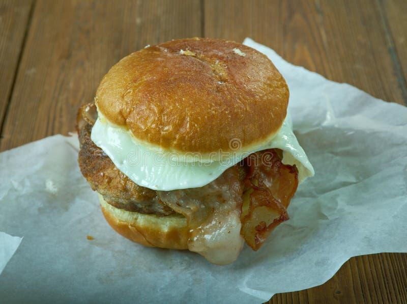 Бургер Luther стоковая фотография rf