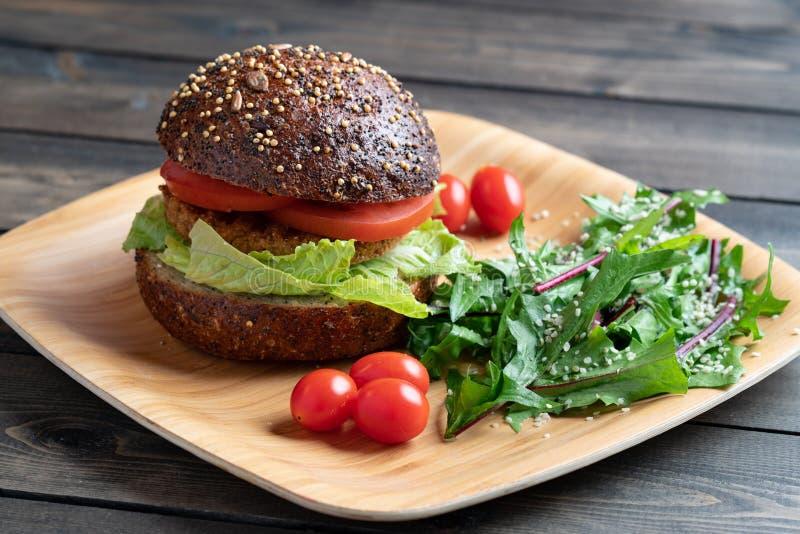 Бургер Veggie стоковое фото rf