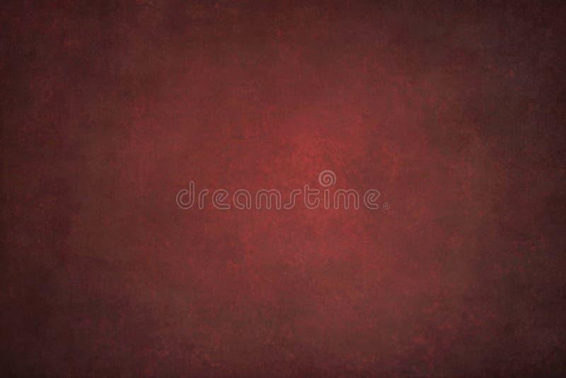 Бургундская абстрактная покрашенная вручную винтажная предпосылка стоковое фото rf