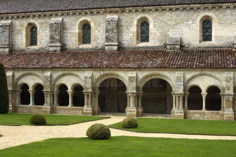 Бургундский, монастырь аббатства Fontenay s стоковые изображения rf