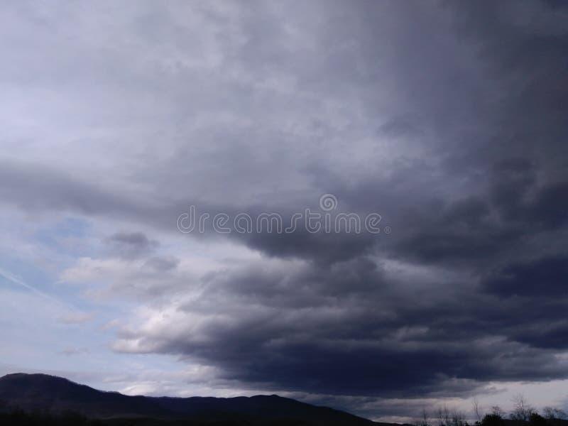 Бурные дни стоковая фотография rf