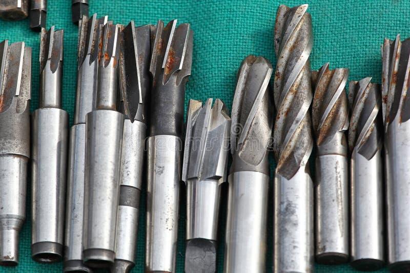 Буровые наконечники стоковое изображение