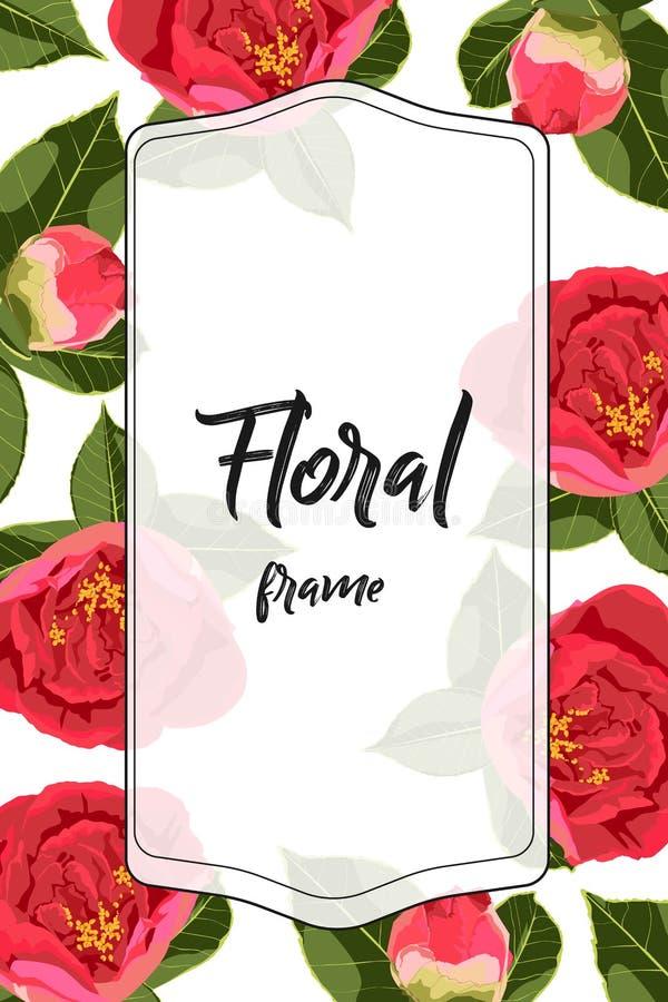 Бутон пиона роз, можно использовать как поздравительная открытка, карточка приглашения для wedding, день рождения и другие праздн бесплатная иллюстрация