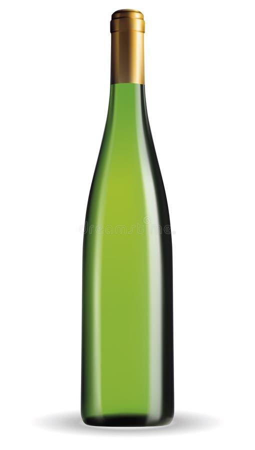 Бутылка вина иллюстрация штока