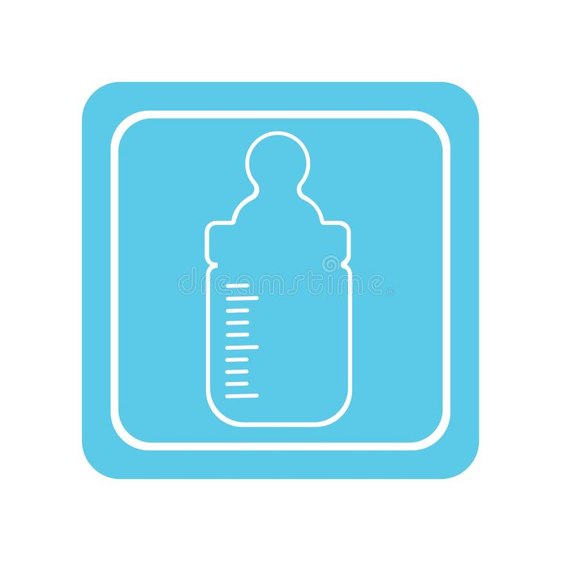 бутылка младенца бесплатная иллюстрация