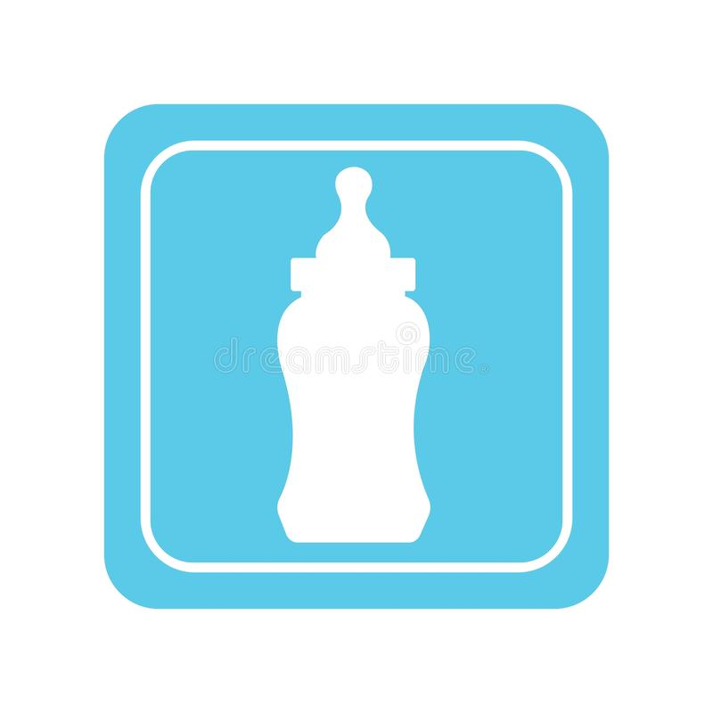 бутылка младенца иллюстрация штока