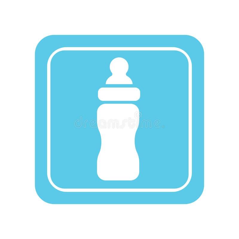 бутылка младенца иллюстрация вектора