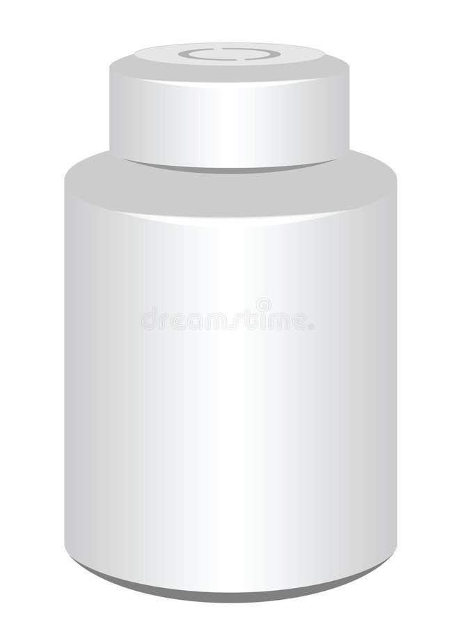 Бутылка пилюльки стоковое фото rf