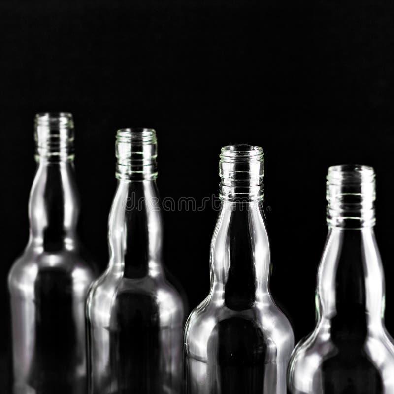 бутылка пустая стоковые фото