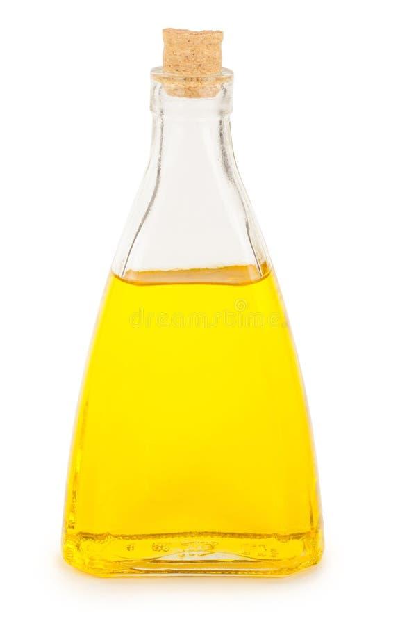 Бутылка с маслом стоковое фото