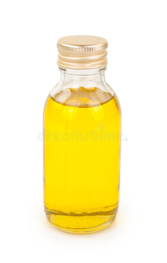 Бутылка с маслом стоковые фотографии rf